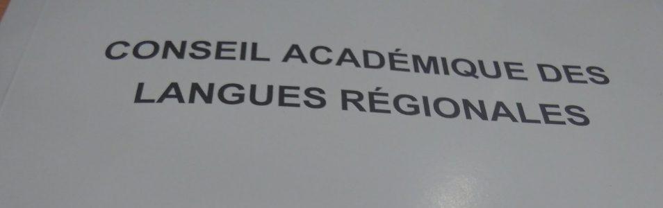 Comité académique des Langues Régionales (CALR) : bac et brevet en breton, déclaration commune Diwan, Div Yezh, Dihun, Kelennomp!, SGEN-CFDT Bretagne