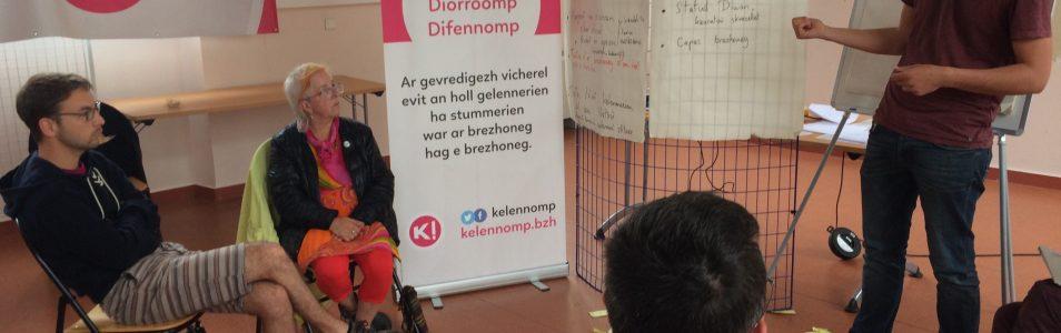 Emvod-meur kentañ KELENNOMP! Kemper 26/05/18